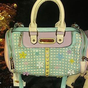 Nicole Lee Barrel purse